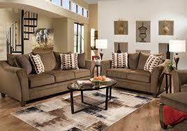 Badcock Living Room Sets Jada Brown Chenille Sleeper Sofa U0026 Loveseat Badcock Home