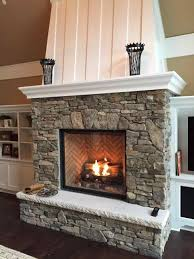 gas fireplace inserts with stone fireplace inserts avalon dv