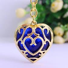 aliexpress heart necklace images Game legend of zelda skyward necklace pendant keychain sword heart jpg