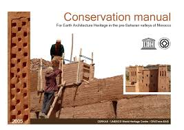 conservation manual for earth architecture heritage in the pre