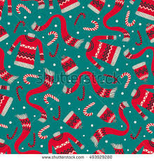 retro wrapping paper vector vintage christmas wrapping paper winter stock vector