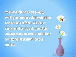 well done and congratulations on the success ecard