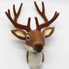 online shop simulation deer head wall decor height 28cm home