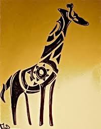 giraffe tattoo by doingitdifferent on deviantart