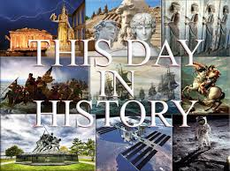 on this day in history first confidential news summary from around the world history page