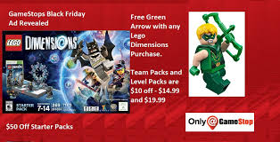gamestop black friday deals gamestop black friday ad revealed u2013 free green arrow figure with