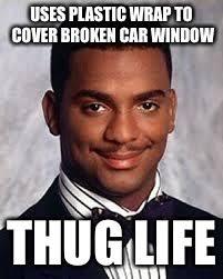 Broken Car Meme - thug life imgflip