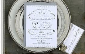 60th wedding anniversary gift 60th wedding anniversary party invitation memento designs party