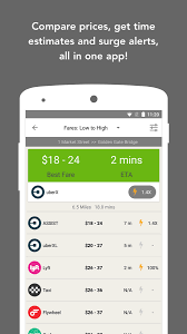 fare compare uber lyft u0026 taxi android apps on google play