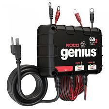 noco 2 bank 8a on board battery charger genm2