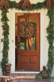 Homes Decorated For Christmas On The Inside Festive Christmas Wreath Ideas Southern Living