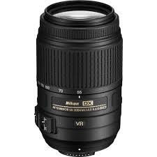 nikon af s dx nikkor 55 300mm f 4 5 5 6g ed vr lens 2197 b u0026h