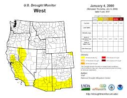 Oregon Drought Map by Owdi Drought