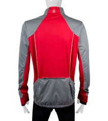 cycling spray jacket illuminite men u0027s portland reflective cycling jacket
