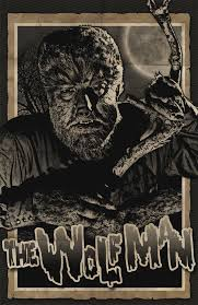 the wolfman lon chaney jr by 4gottenlore on deviantart