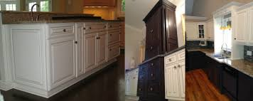 Pickled Cabinet Finish Specialty Cabinet Finishes Portfolio Kitchen Cabinet Refinishing