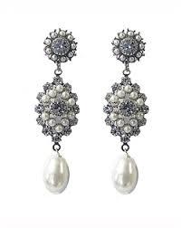 Vintage Pearl Chandelier Earrings 33 Best Couture Earrings Images On Pinterest Bridal Bridal