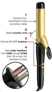 curling irons that won t damage hair recall image conair recalls curling irons for shock and