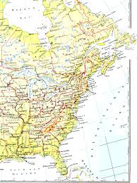 Map Of United States Cities by United States Map With Cities For Alluring Usa Canada And