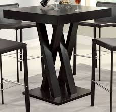 counter height pub table laminated top 3 piece counter height bar pub table set by coaster