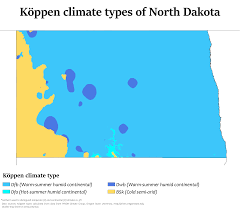 Oregon Temperature Map by Climate Of North Dakota Wikipedia