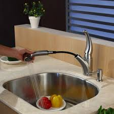 kraus kitchen faucets faucet kpf 2110 sd20 in stainless steel by kraus
