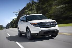 Ford Explorer Blue - 2013 ford explorer reviews and rating motor trend