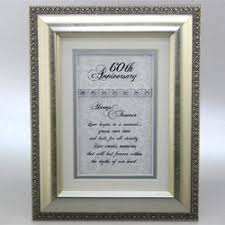60th anniversary gift wedding anniversary gifts ideas for 60th wedding 60th wedding