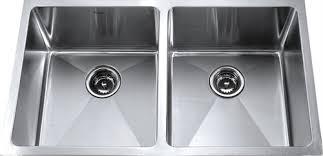 Kitchen Sink Kraus  Inch Undermount  Double Bowl  Gauge - Double bowl kitchen sink undermount