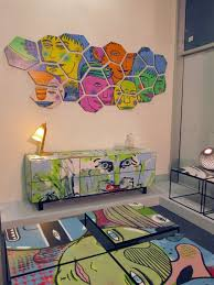 graffiti furniture brings street art into your home