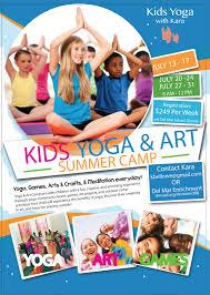 yoga u0026 art camp this summer kids yoga with kara