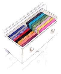 how to organize a dresser drawer of clothes organizing made fun
