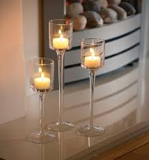 wedding table decorations candle holders set of 3 elegant tea light glass candle holders wedding table