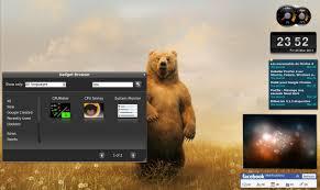 gadget de bureau meteo installer des widgets pour votre bureau linux tux planet