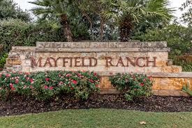 the mayfield ranch neighborhood round rock texas