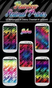 rainbow animal print wallpaper android apps on google play