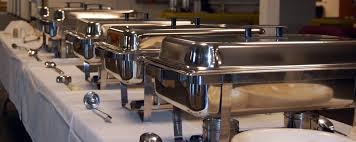 how to set a buffet table with chafing dishes buffets