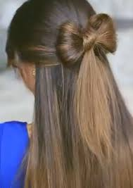 in hair bow how to make a bow in your hair follow this hair bows