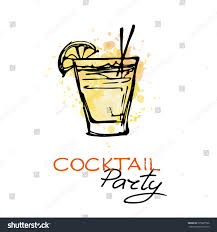 cocktail party cartoon drawn cocktail cocktail party pencil and in color drawn cocktail