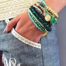 bracelet sets images Boho chic bracelet set turquoise i love jewelry jpg