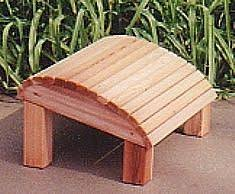 Ottoman Plans Adirondack Ottoman Woodworking Plan Back Yard Pinterest