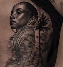 drake honors sade again with another portrait tat popstartats