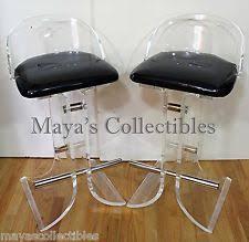 lucite stool ebay