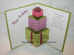 pop up birthday card sting with shelle pop up birthday card