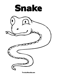 perfect snakes coloring pages nice colorings 8326 unknown