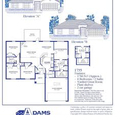 calculate square footage of house adams homes floor plans 1755 http viajesairmar com pinterest