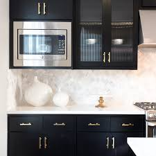 Pictures Of Black Kitchen Cabinets 3 Gorgeous Ways To Soften Black Kitchen Cabinets Martha Stewart