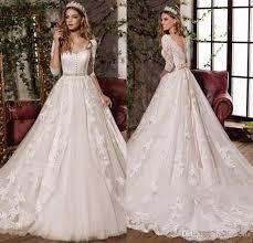 design dress 2017 new design v neck bow princess wedding dresses