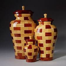 Turned Wooden Vases 100 Of The World U0027s Most Beautiful Wood Cremation Urns