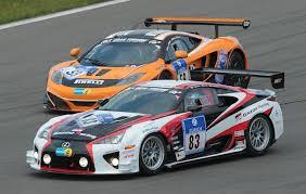 lexus lfa racing lexus lfa celebrates best nürburgring n24 result lexus
